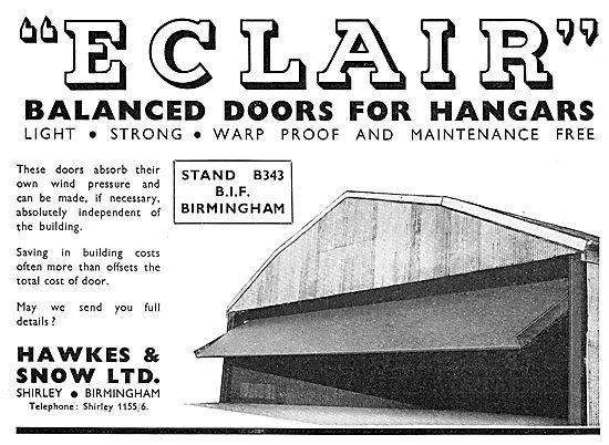 Hawkes & Snow. Shirley, Birmingham - Hangar Doors