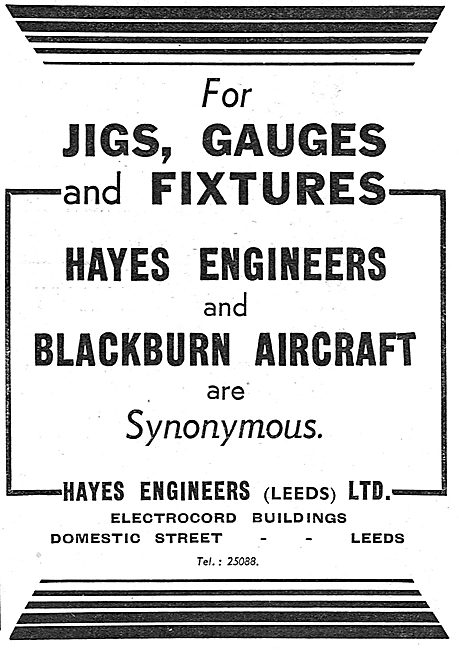 Hayes Engineers. Jigs,Gauges & Fixtures