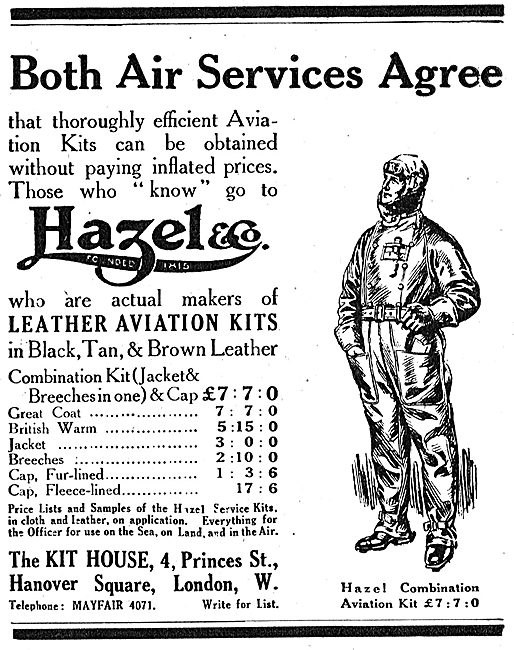 The Air Services Agree That Hazel & Co Aviators Kit Is Efficient.