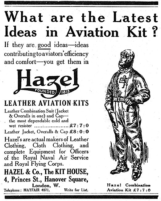 Hazel & Co For The Latest Ideas In Aviation Kit.