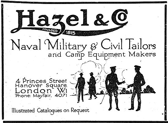 Hazel & Co Naval Military & Civil Tailors