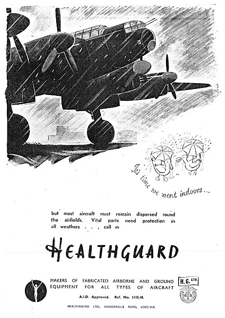 Healthguard Aircraft Protective Covers