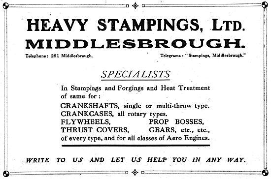 Heavy Stampings Ltd - Stampings & Forging For Aero EnginesHeavy S