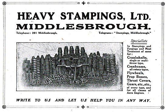 Heavy Stampings Ltd - Middlesborough, Stampings & Forgings