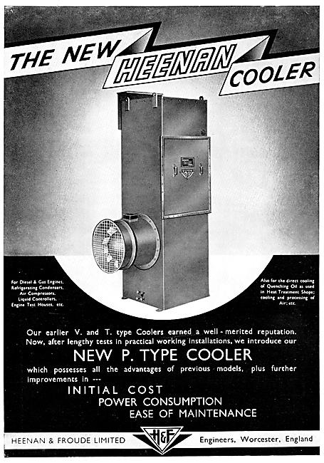 Heenan & Froude P.Type Cooler