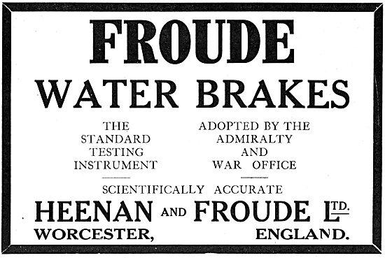 Heenan & Froude Water Brakes