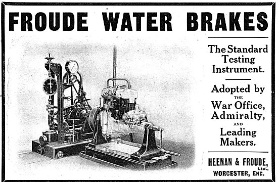 Heenan & Froude Dynamometers - Water Brakes