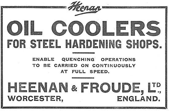 Heenan & Froude Oil Coolers For Steel Hardening