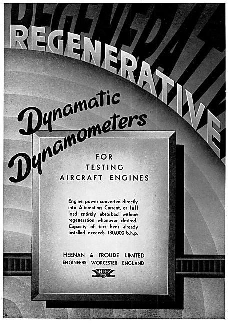 Heenan & Froude Dynamatic Dynamometers