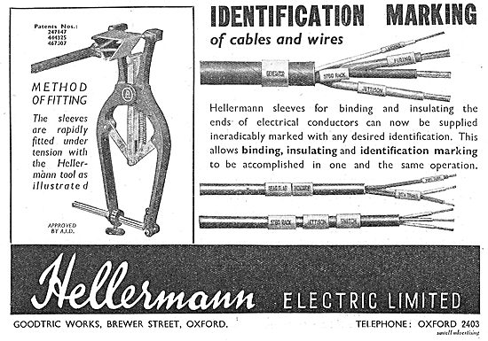 Hellermann Electrical Wires Binding & Identification System