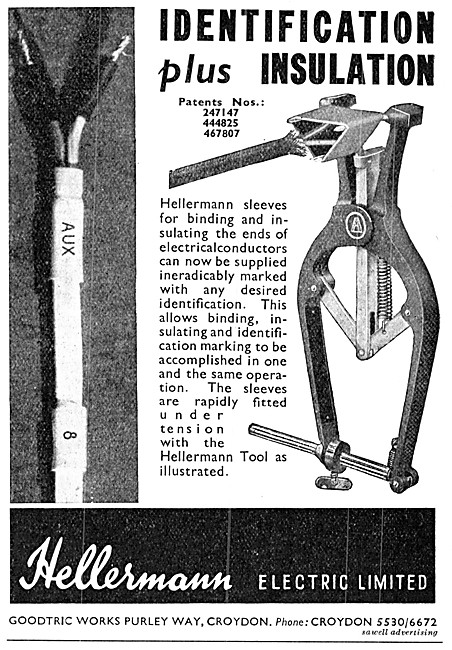 Hellermann Electrical Cable Labelling & Insulation Tools