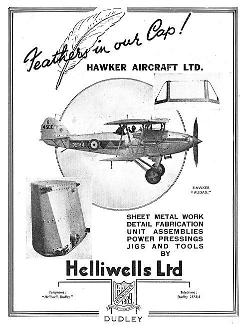 Helliwells Aviation Component Manufacturers & Contractors