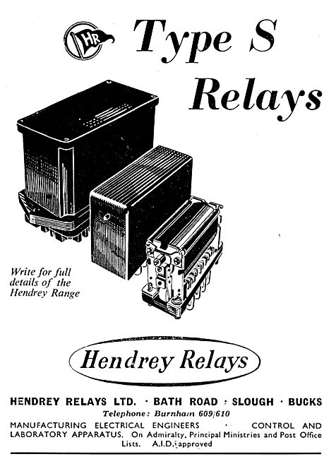 Hendrey Type S Relays