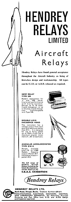 Hendrey Aircraft Relays 1959