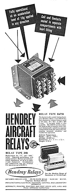 Hendrey Aircraft Relays