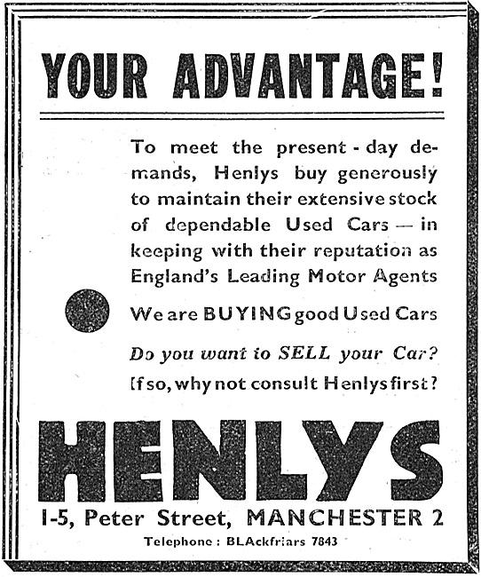 Henlys Car Sales