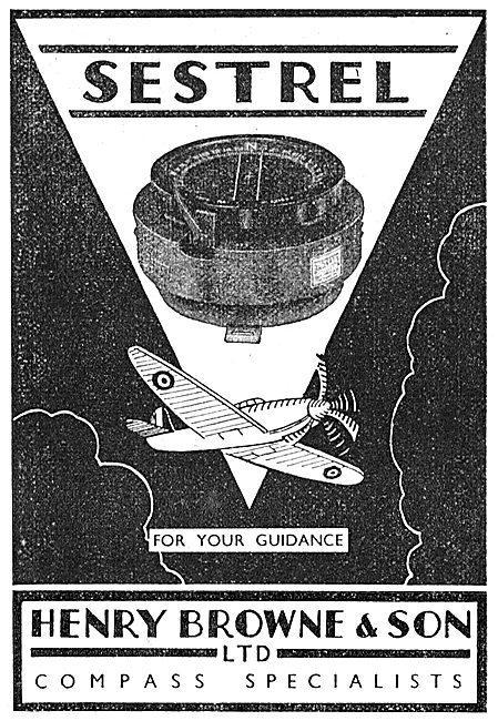 Henry Browne Sestrel Aircraft Compass