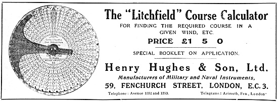 Henry Hughes Litchfield Course Calculator