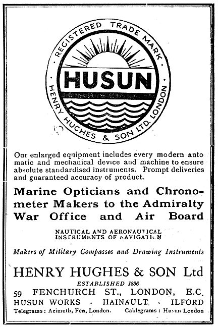 Henry Hughes HUSUN Compasses & Chronometers
