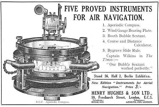 Henry Hughes Navigation - Henry Hughes Bubble Sextant