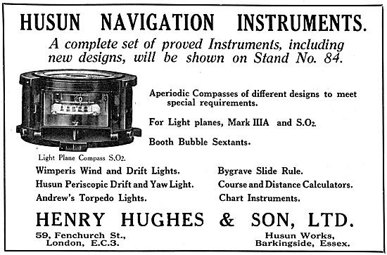 Henry Hughes Husun Navigation Instruments