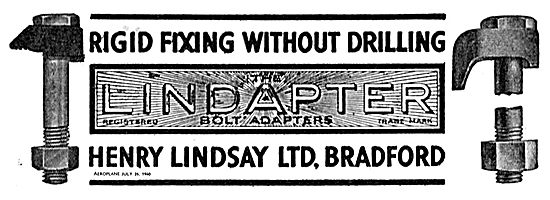 Henry Lindsay Lindapter. Rigid Fixing Without Drilling