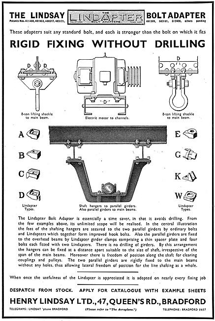 Henry Lindsay Ltd : Lindapter Factory Fittings