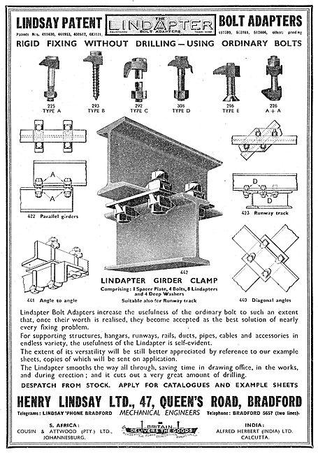 Henry Lindsay Ltd : Lindapter