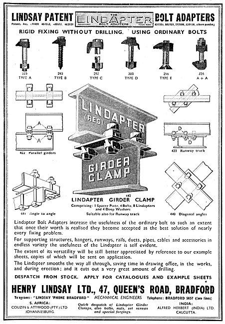 Henry Lindsay Ltd : Lindapter Component Racking System