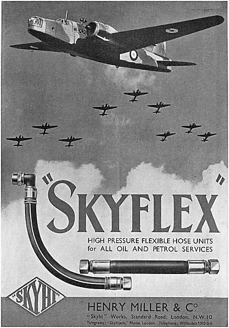 Henry Miller Skyflex Flexible Hoses 1940