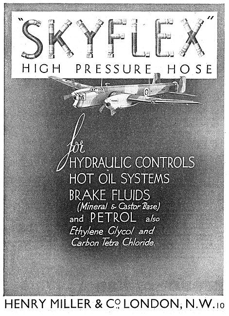 Henry Miller And Co :  Skyhi Aircraft Jacks & Skyflex Hoses