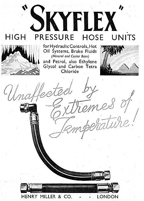 Henry Miller And Co : Skyflex High Pressure Hoses