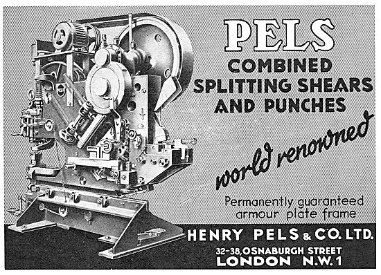 Pels Combined Splitting Shears & Punches