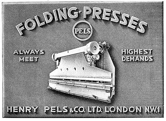 Pels Folding Presses