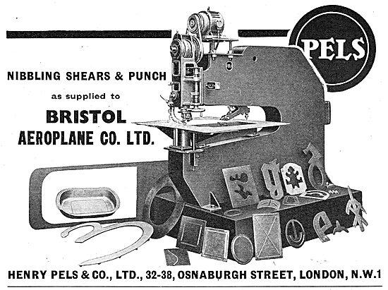 Henry Pels & Co: Machine Tools - Nibbling Shears & Punch