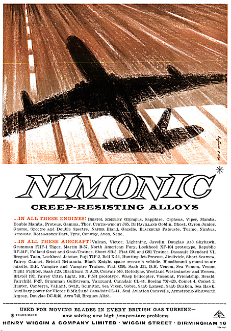 Henry Wiggin Nimonic Alloys