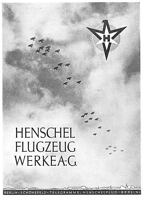 Henschel Aircraft. Berlin