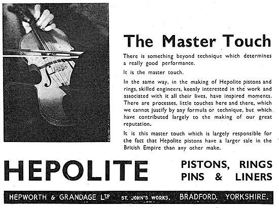 Hepolite Piston Rings