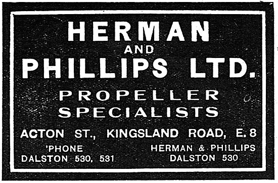 Herman & Phillips Ltd - Propeller Specialists