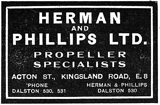 Herman & Phillips Ltd - Propeller Specialists