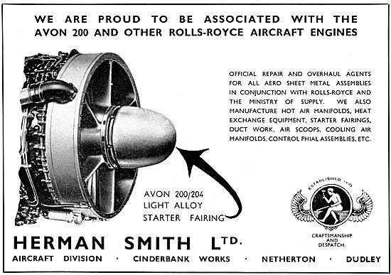Herman Smith Aircraft Sheet Metal Work