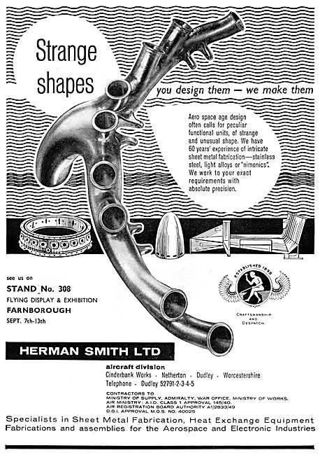 Herman Smith Sheet Metal Fabrications & Assemblies