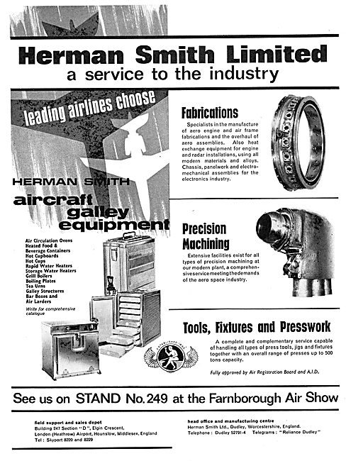 Herman Smith Fabrications & Precision Machining - Galleys
