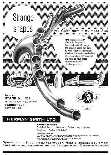 Herman Smith Sheet Metal Fabrications - Nimonics