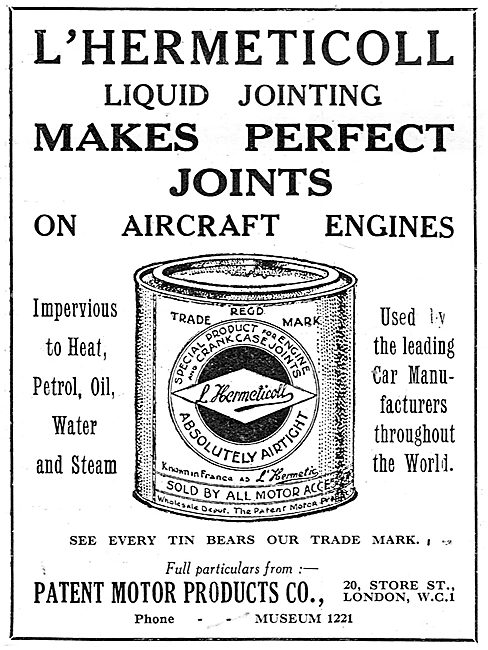 Hermeticoll Liquid Jointing For Aero Engines
