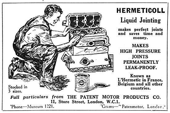 Hermeticoll Liquid Jointing