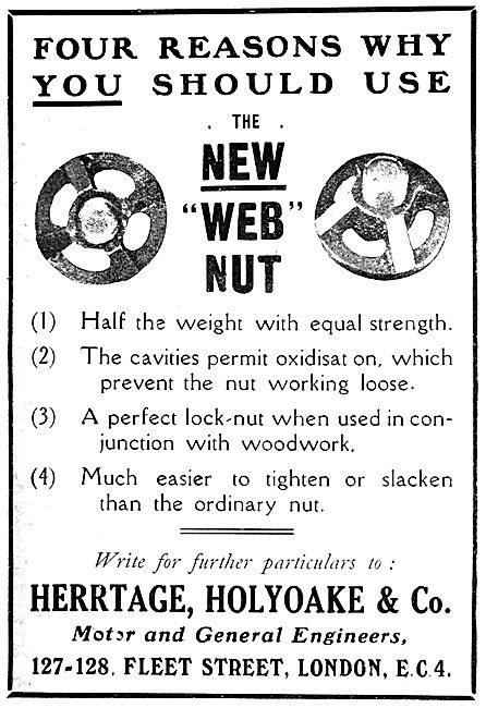 Herrtage Holyoake & Co. Web Nuts.