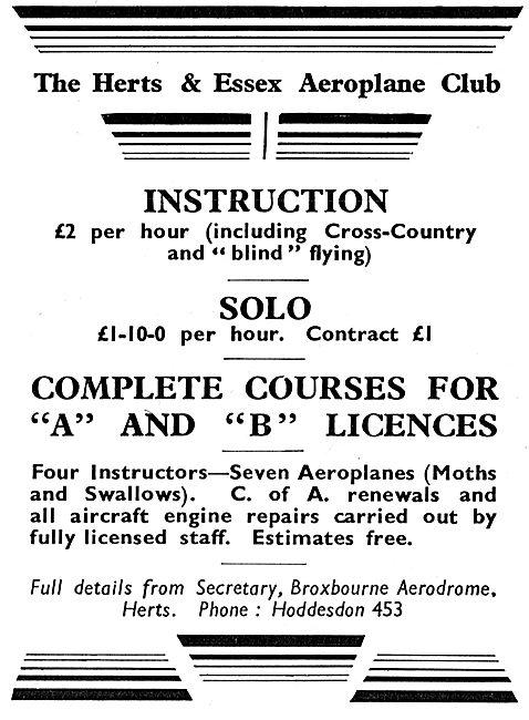 Herts & Essex Aero Club
