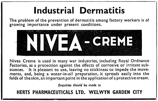 Herts Pharmaceuticals Nivea Creme