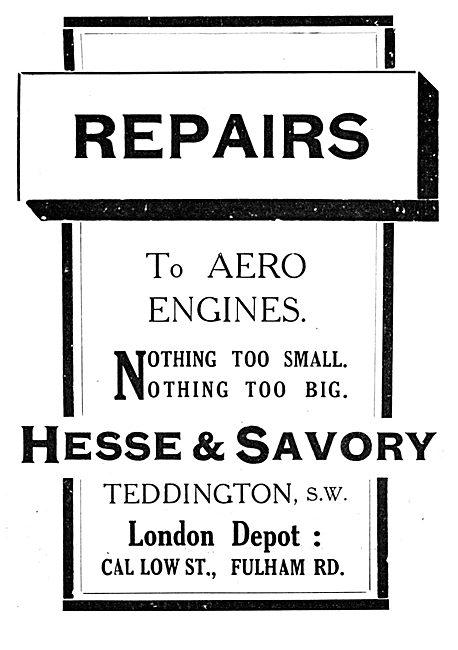 Hesse & Savory Engineers - Aero Engine Repairs